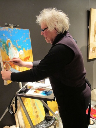 Artist Demonstration: October 1, 2-4pm